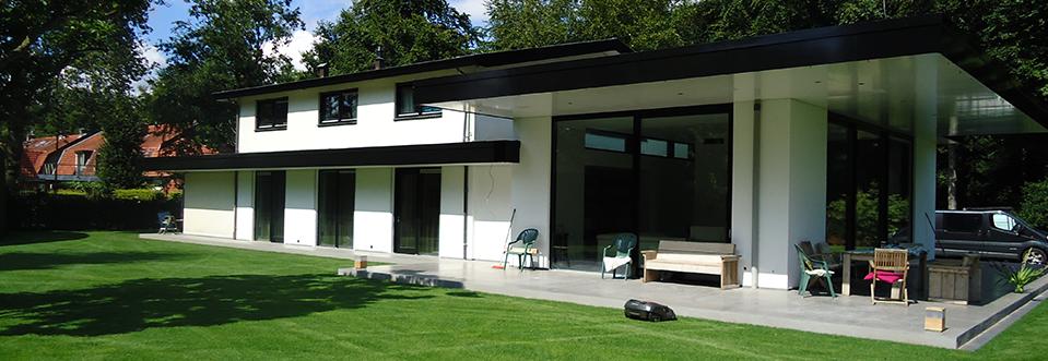 Bouw architectonisch huis te Driebergen